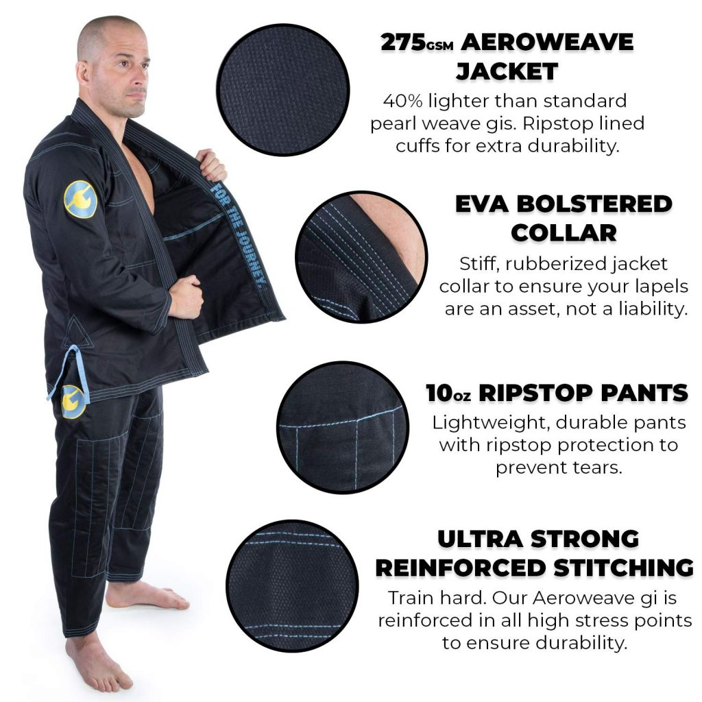 71dEBdgll0L. SL1500  1024x1024 - Gold BJJ Gi Review: Ultimate Performance Lightweight Gi