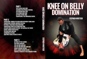DVDwrap 2 steohen 1024x1024 300x202 - Stephen Whittier BJJ DVD Review: Knee On Belly Domination