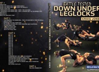 Craig Jones DVD INstructional - Down Under Leg Locks
