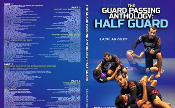 Lachlan Giles DVD Review Of the guard Passing Anthology: Half Guard instructional