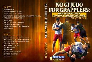 "ishii no gi cover 1024x1024 300x202 - Satoshi Ishii DVD Instructional ""No Gi Judo For Grapplers"" Review"