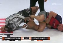 Craig Jones Catches Boogeyman Martinez wit ha De La Riva Footlock