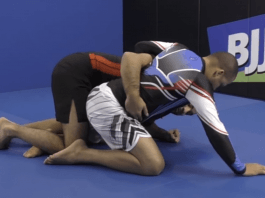 Attacking From the BJJ Dogfight Position From Half Guard