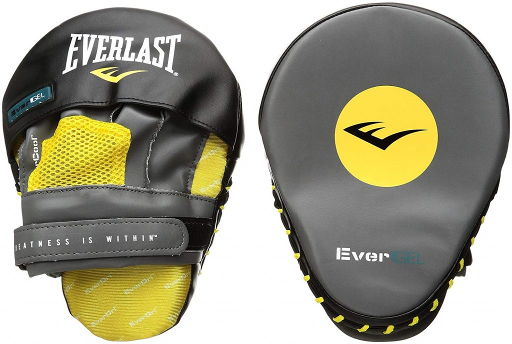 Best MMA Focus Mitts Of 2019 Everlast EveGel Mitts
