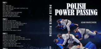 NEW Adam Wardzinski DVD Review - Polish Power Passing BJJ Instructional
