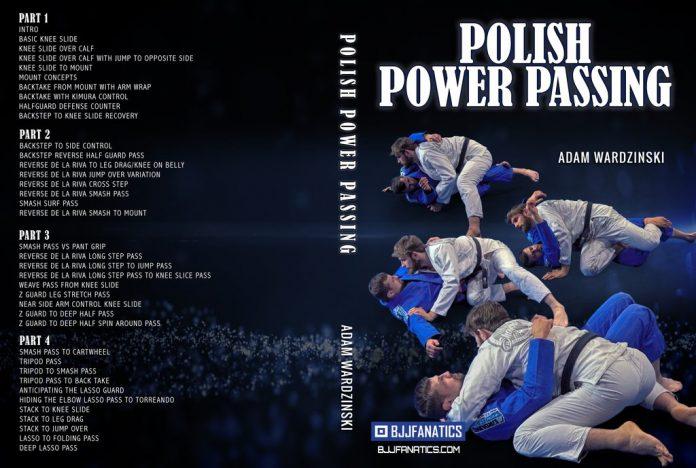 NEW Adam Wardzinski DVD Review - Polish Power Passing BJJ Instructional