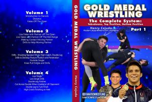 Henry Cejudo Wrestling Cover 1 NEW logo 1024x1024 300x202 - No-Gi Takedowns - The Best DVDs and Digital Instructionals