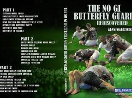No-Gi Butterfly Guard Rediscovered Is an Adam Wardzinski BJJ DVD that will change your guard game forever
