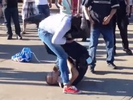 Cop vs Thief: White Belt Cop Armbar Attempt Gets Countered by Woman