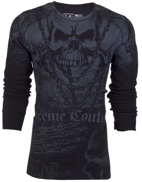 The Best MMA Apparel 2019 Guide And Reviews Xtreme Couture thermal Biker Shirt