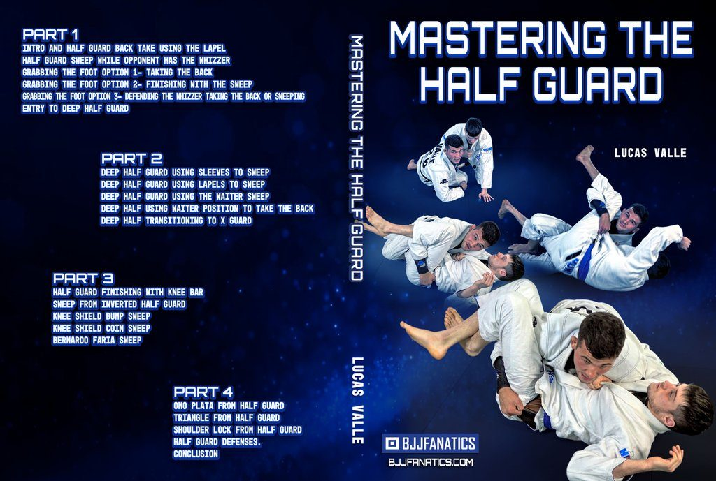 """Lucas Valle English 1 1024x1024 1024x689 - Lucas Valle DVD Review -""""Mastering The Half Guard"""""""
