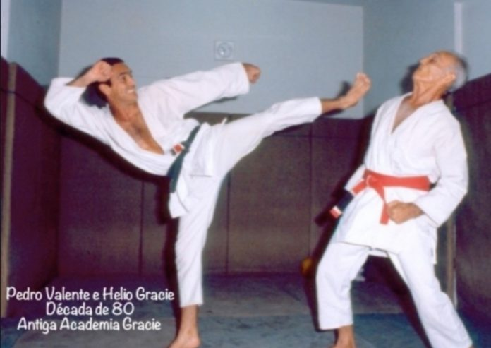 Striking in BJJ training