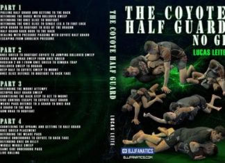 The Coyote Half Guard No Gi - Lucas Leite DVD