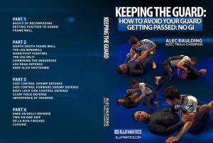 alec baulding cover 1024x1024 300x202 - Alec Baulding DVD Review: Keeping The Guard In No-Gi