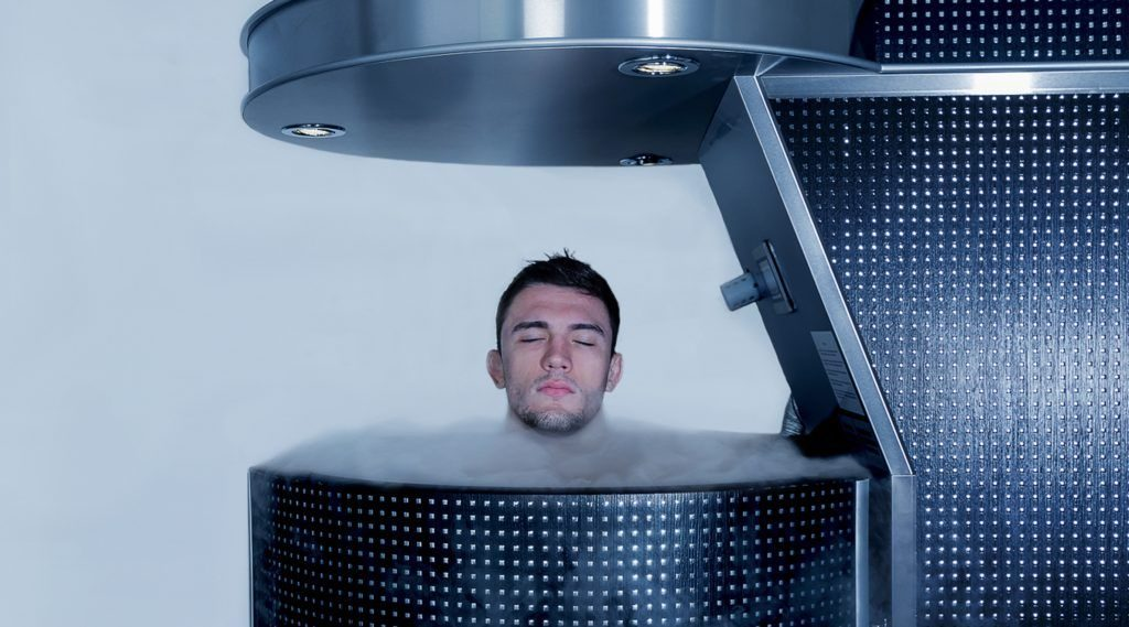Cryotherapy for BJJAnd MMA fighters