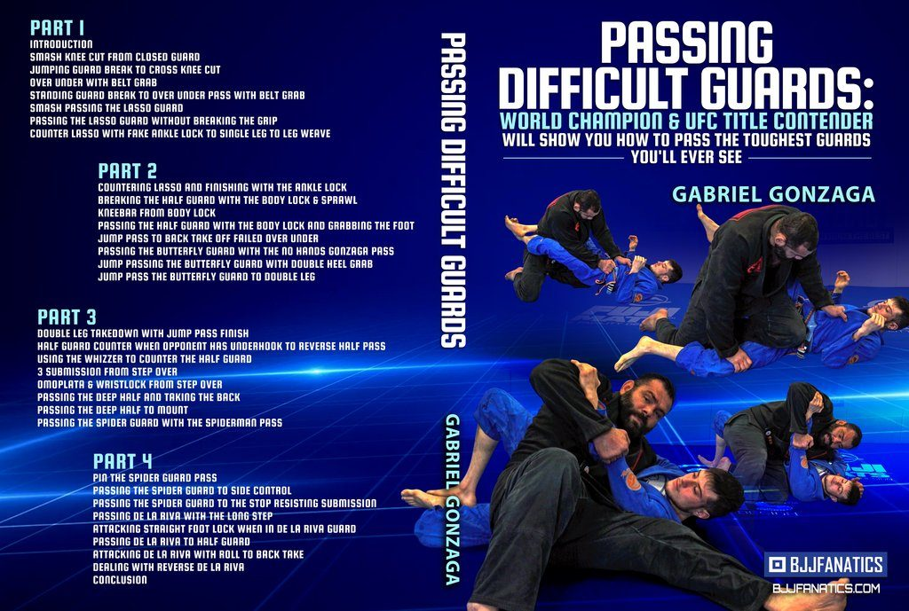 Gabriel Gonzaga Cover 1024x1024 1 1024x689 - Gabriel Gonzaga DVD Review: Passing Difficult Guards