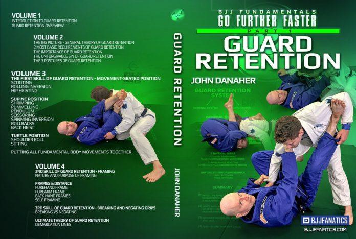 John Danaher DVD Review - BJJ Fundamentals: Guard Retention Cover