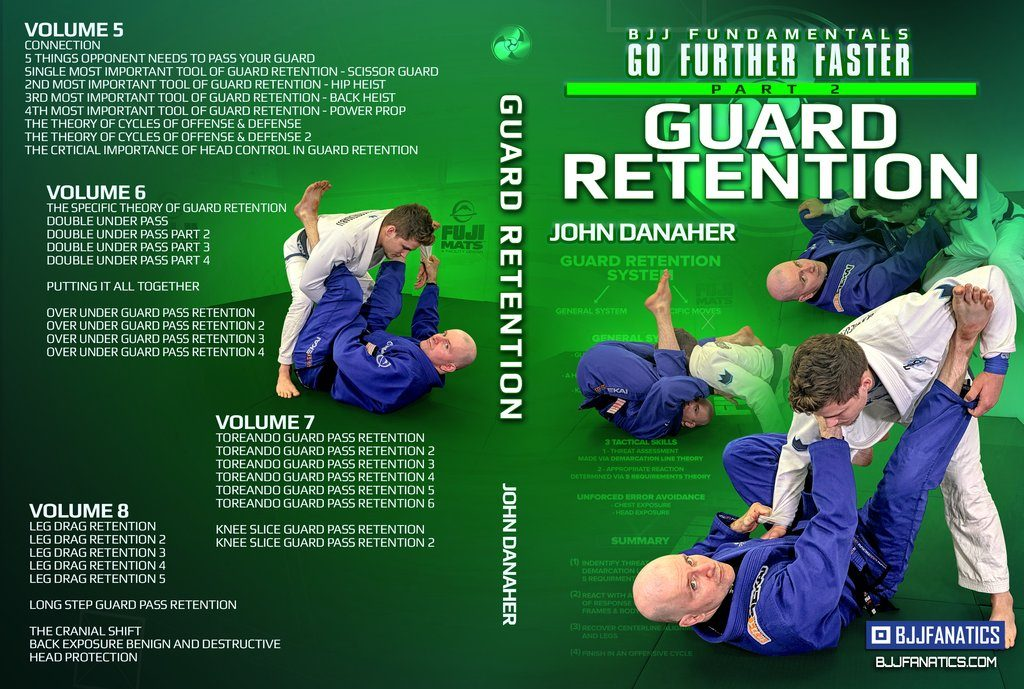 John Danaher DVD Review - BJJ Fundamentals: Guard Retention