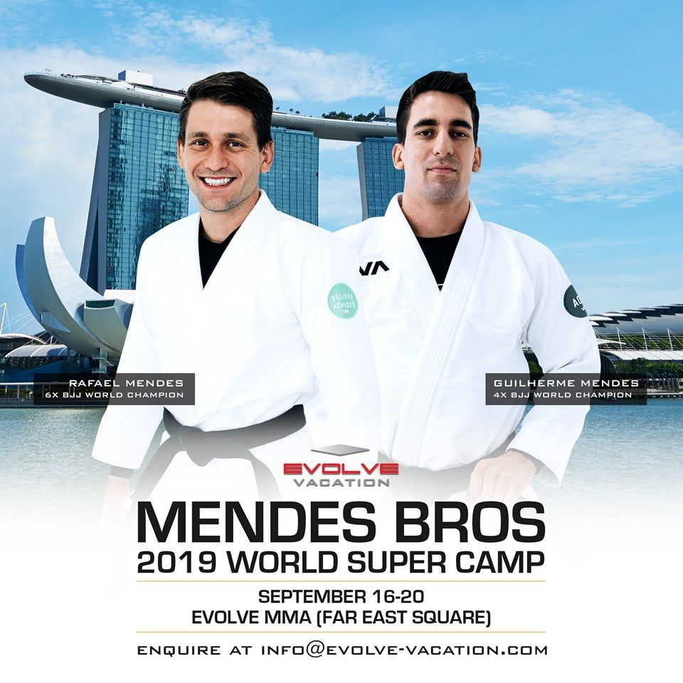 Mendes Bros Super Camp 2019 in SIngapore poster