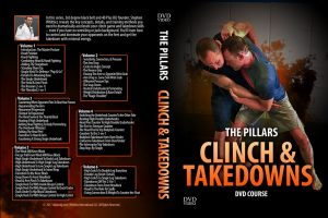 The Pillars Escapes Clinch and Takedowns 5 6 discs 1024x1024 300x200 - No-Gi Takedowns - The Best DVDs and Digital Instructionals