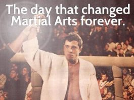 November 12, 1993 UFC 1 Royce Gracie