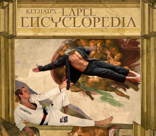 Keenan Cornelius DVD review of The Lapel Encyclopedia BJJ Instructional