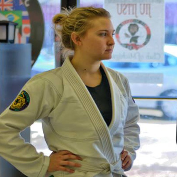 lauren - Dealing With Nerves Before a BJJ Match (Tips By A World Champion)