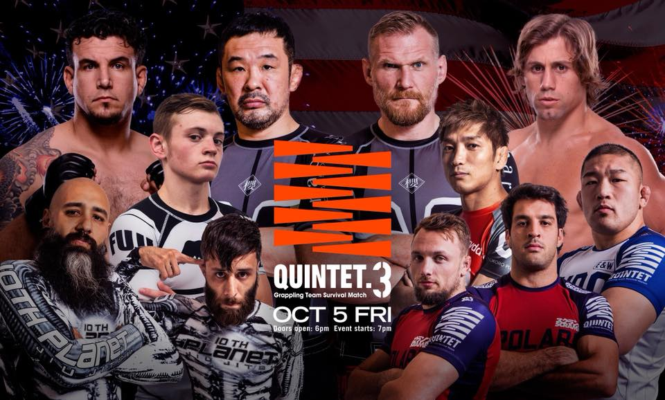 quintet 3 big - What Are The Best BJJ Tournaments In The World?