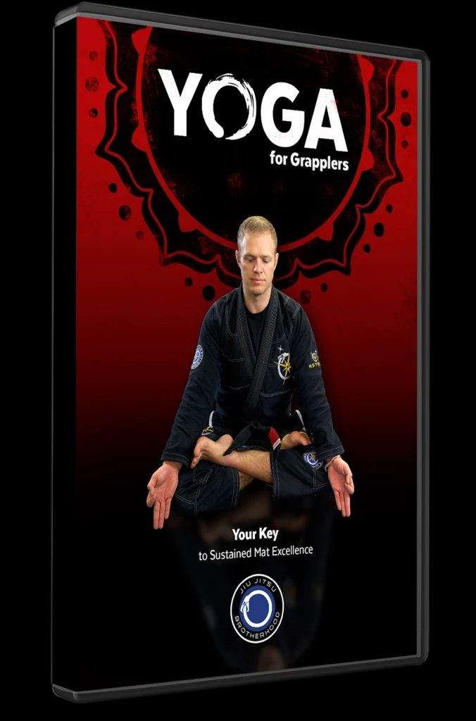 Yoga For Grapplers Nicolas Gregoriades instructional Cover
