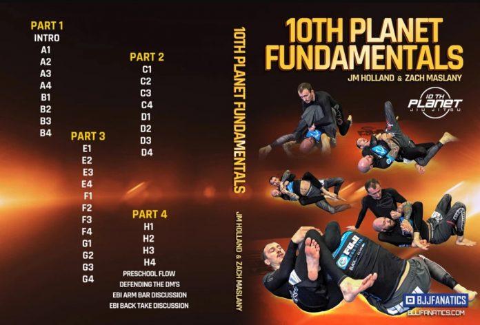 10th Planet Fundamentals DVD - JM Holland & Zach Maslany