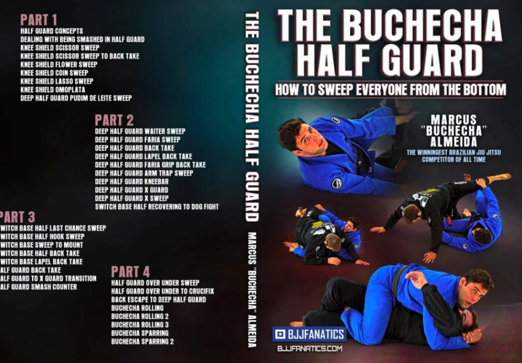 Buchecha hg 1024x713 - Best BJJ Half Guard Instructionals – The Complete Guide