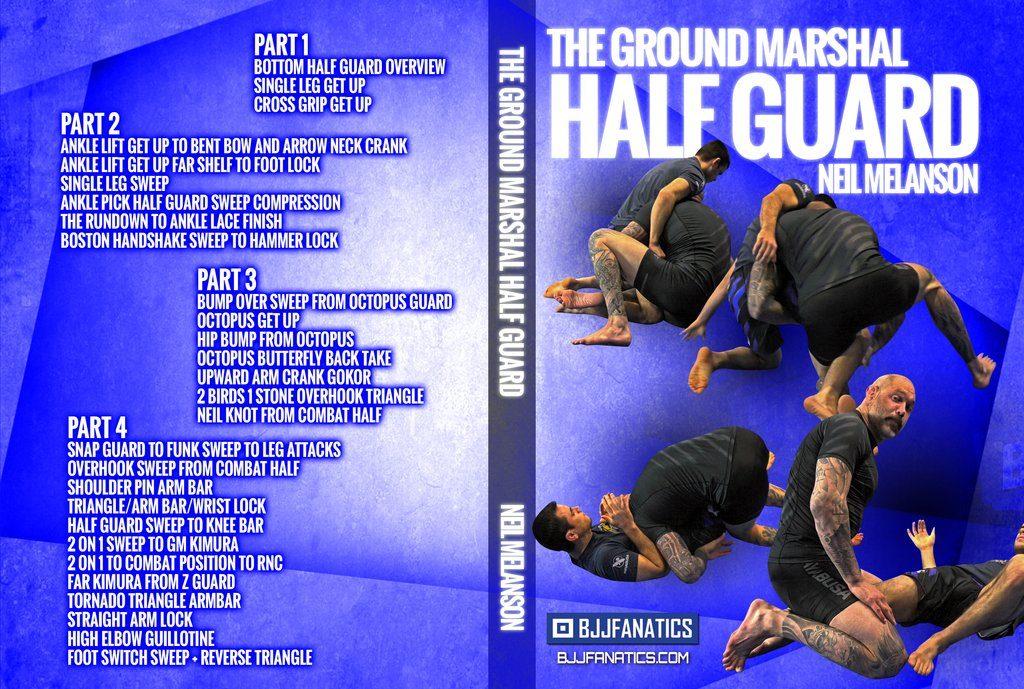 DVDwrap Neil Half Guard 1 1024x1024 1024x689 - Best BJJ Half Guard Instructionals – The Complete Guide