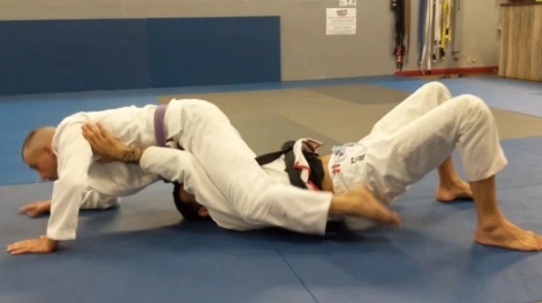 Joel Bouhey White Belt Defense mount - White Belt Defense DVD by Joel Bouhey (Review)