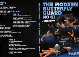 The Modern Butterfly Guard No-Gi Jonathan Satava DVD review