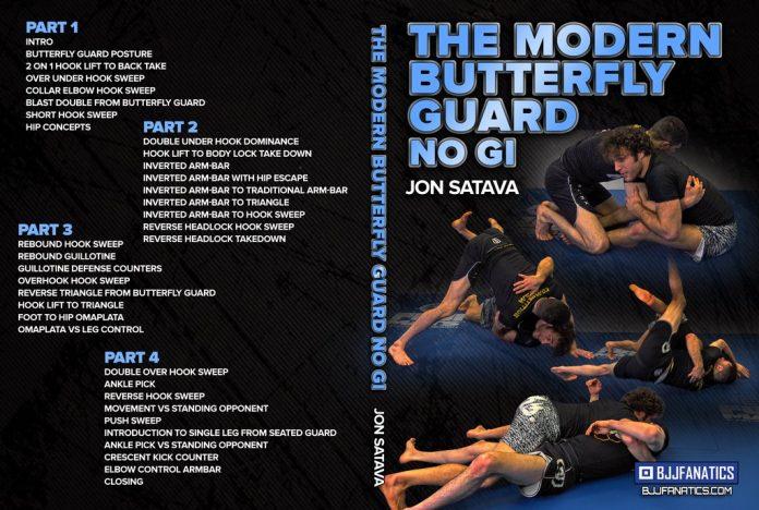 The Modern Butterfly Guard No-Gi Jonathan Satava DVD review