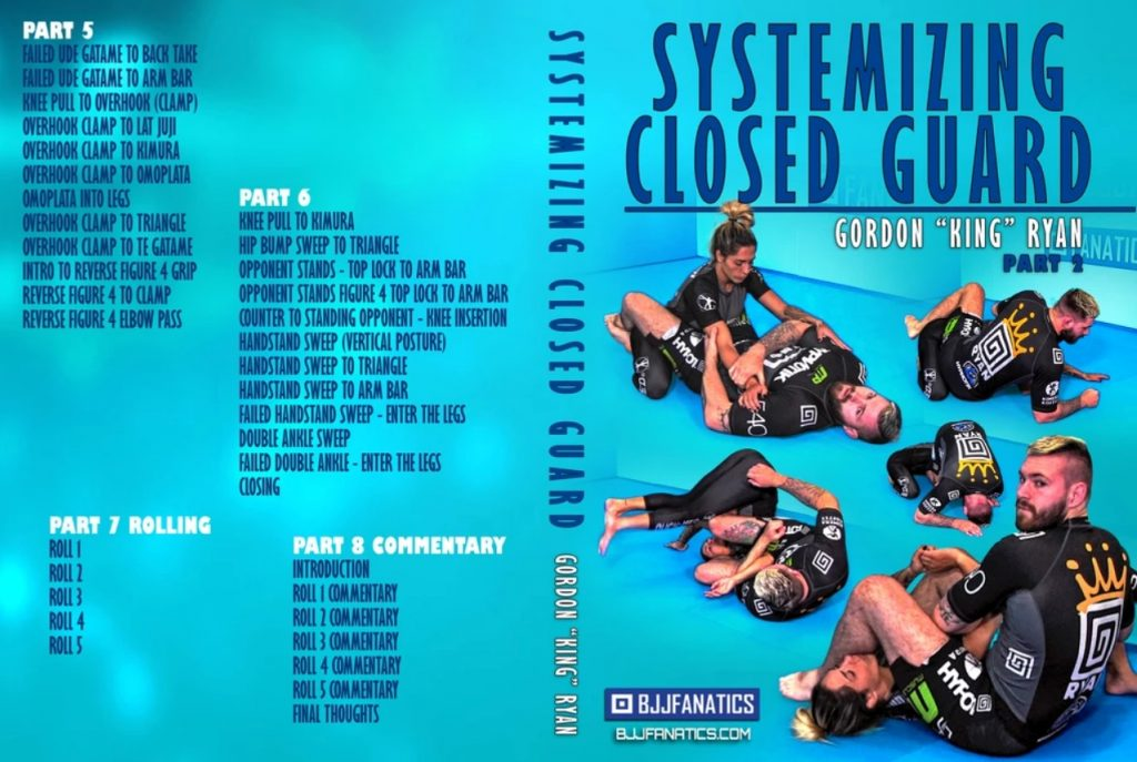 Gordon Ryan: Systemizing Closed Guard DVD