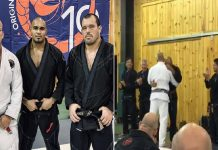 Echo Charles Surprised and Promoted to Black Belt by Jocko Willink