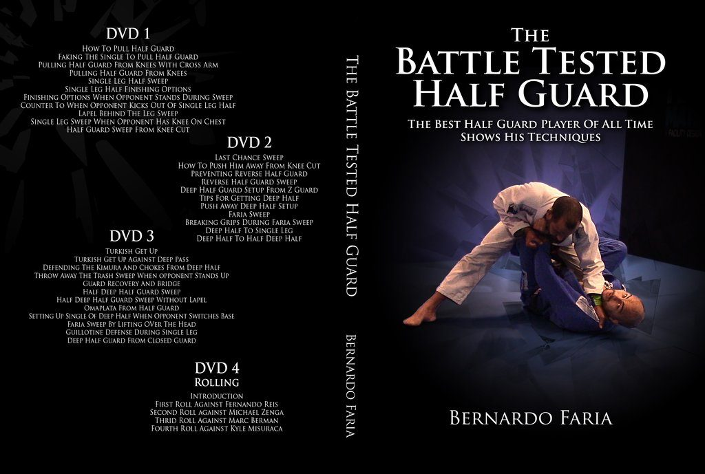 bernardo BTHG cover 1024x1024 1024x689 - Best BJJ Half Guard Instructionals – The Complete Guide