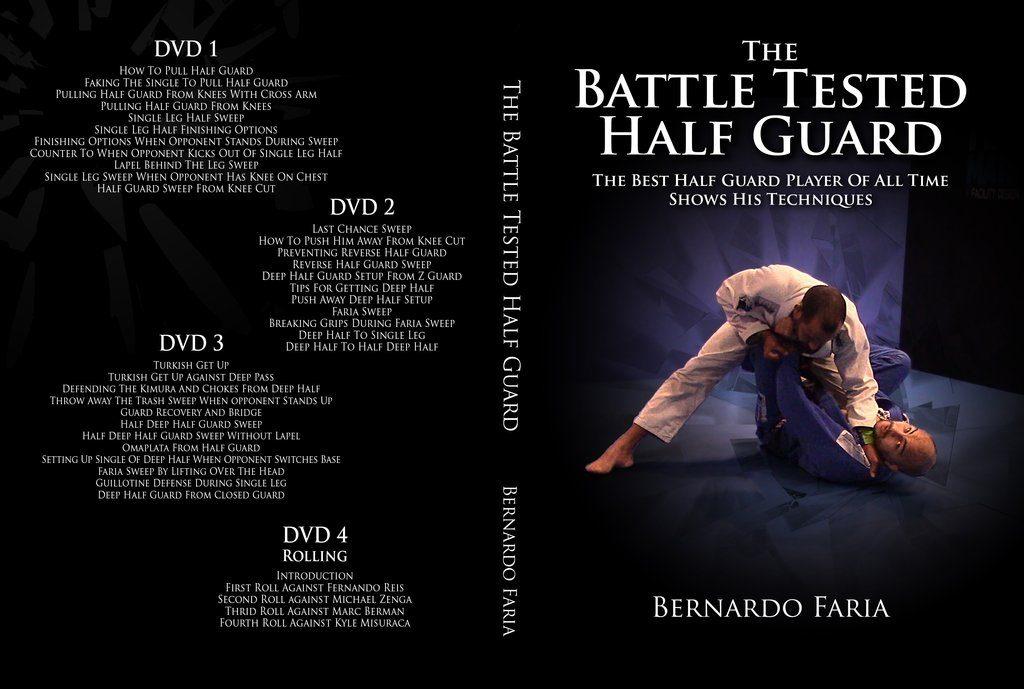 bernardo BTHG cover 1024x1024 1024x689 - Best BJJ Half Guard Instructionals – The Complete Guide
