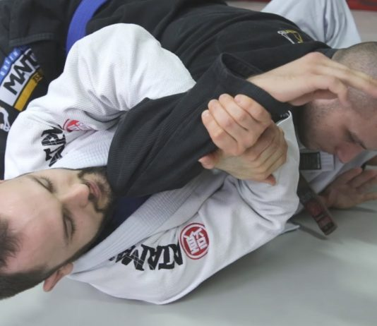 Bottom Side Control Submissions - A Nasty Surprise