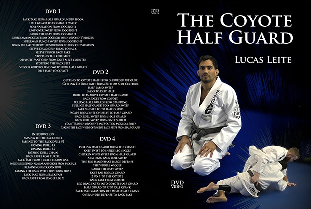leite dvd sm - Best BJJ Half Guard Instructionals – The Complete Guide