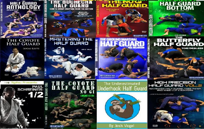 Best BJJ Half guard instructionals Complete guide