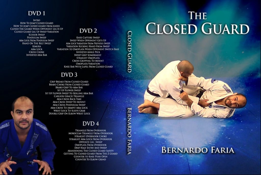 Best BJJ Closed Guard Instructionals - Bernardo Faria