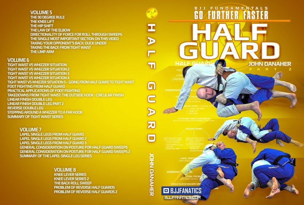 John Danaher Half Guard DVD Go Further Faster Review
