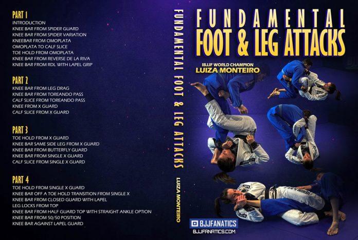 Luiza monteiro DVD IBJJF Legal leglocks Full REview