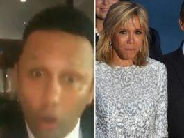 Renzo Gracie on Macron and his wife brigitte