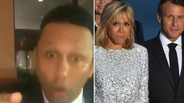 Renzo Gracie on Macron and his wife brigitte