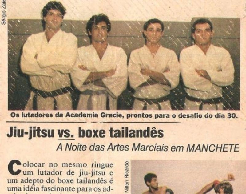 Vale Tudo de 1984 510x402 - Luta Livre Vs BJJ – Same Roots, Different Directions