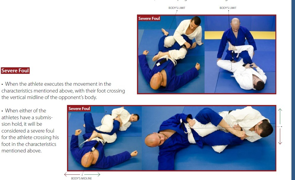 knee ripping severe foul dq - Rules Of BJJ: A Competition Guide For Beginners