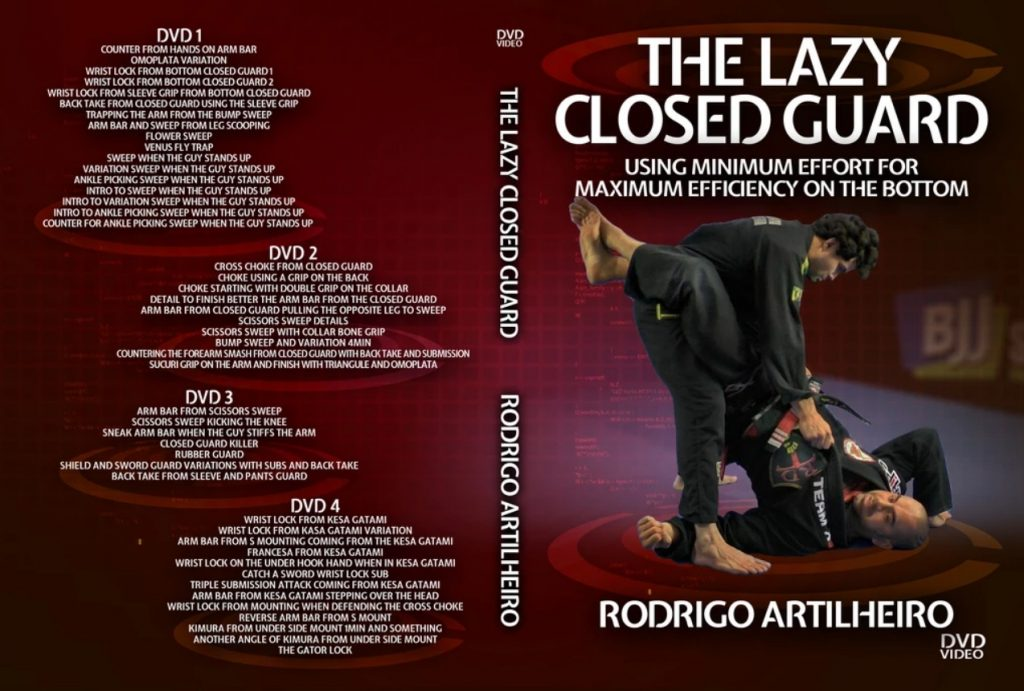 Best BJJ Closed guard Instructionals Lazy Clsoed guard